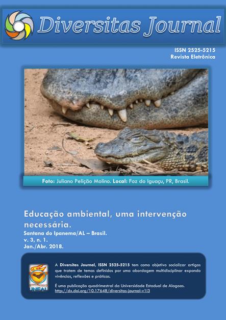 Visualizar v. 3 n. 1 (2018): Educação ambiental, uma intervenção necessária