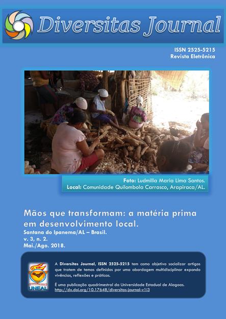 Visualizar v. 3 n. 2 (2018): Mãos que transformam: a matéria prima  em  desenvolvimento local