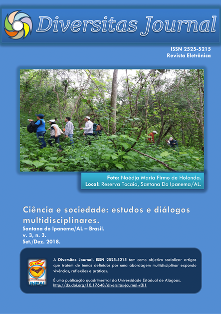 Visualizar v. 3 n. 3 (2018): Ciência e sociedade: estudos e diálogos multidisciplinares