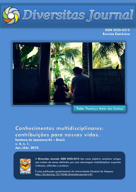 Visualizar v. 4 n. 1 (2019): Conhecimentos multidisciplinares: contribuições para nossas vidas