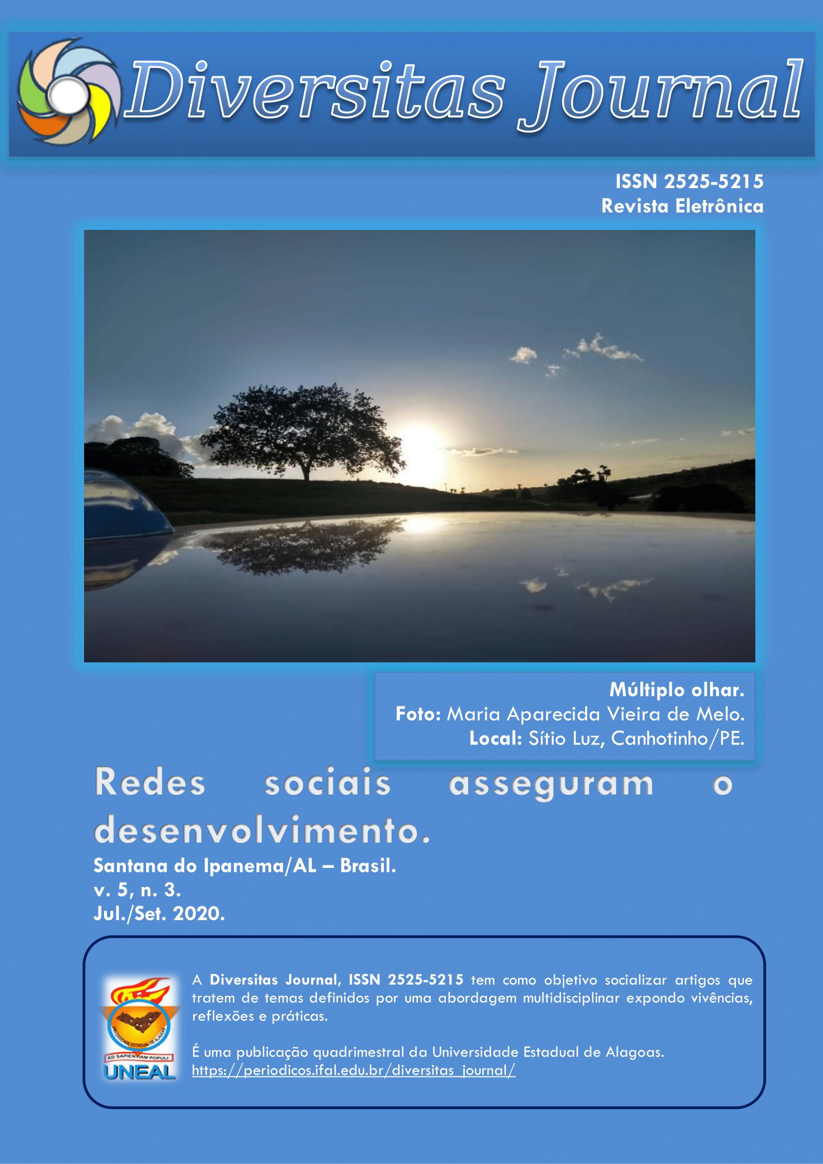 Visualizar v. 5 n. 3 (2020): Redes sociais asseguram o desenvolvimento