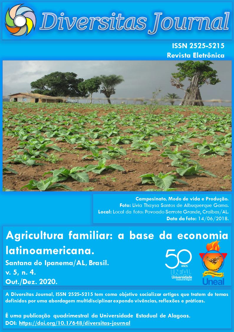 Visualizar v. 5 n. 4 (2020): Agricultura familiar: a base da economia latinoamericana