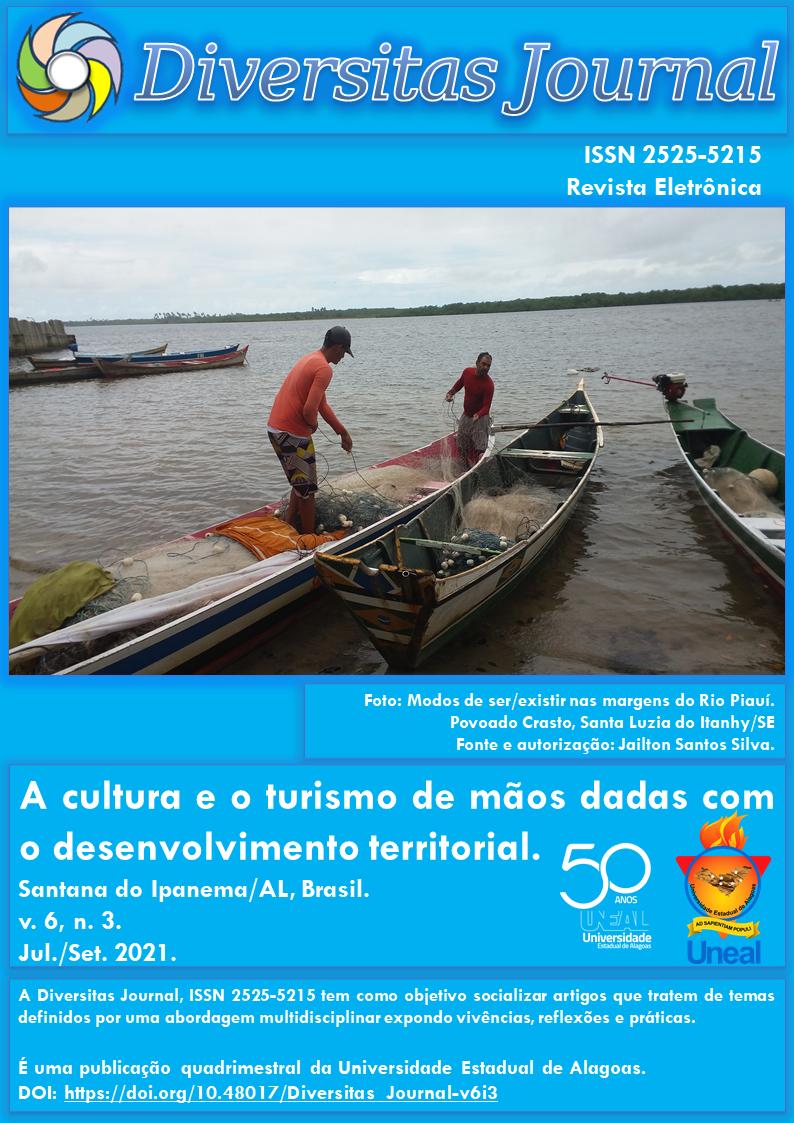 Visualizar v. 6 n. 3 (2021): A cultura e o turismo de mãos dadas com o desenvolvimento territorial