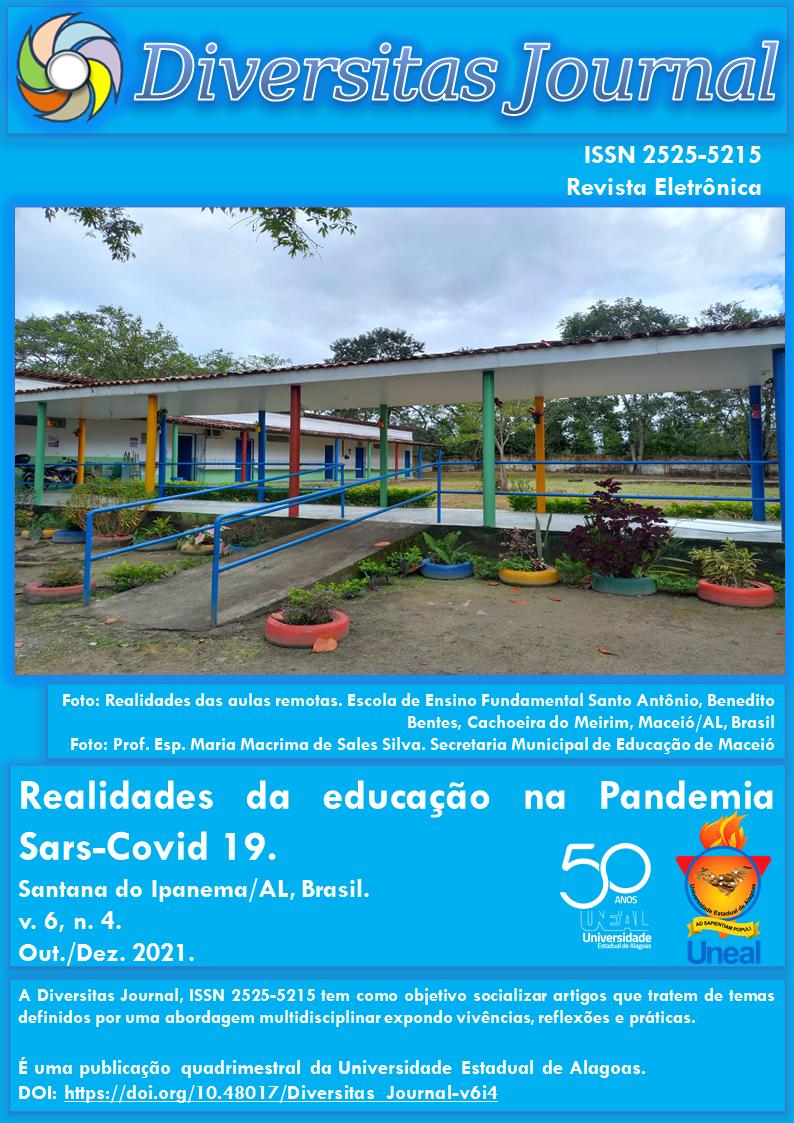 Visualizar v. 6 n. 4 (2021): Realidades da educação na Pandemia Sars-Covid 19